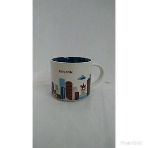 Starbucks Boston You Are Here Coffee Mug
